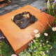 Corten Steel Garden Fire Tables from potstore.co.uk
